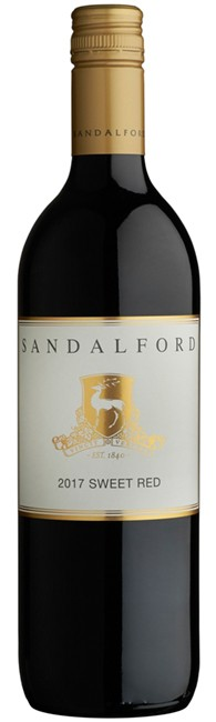 2017 Sandalford Sweet Red