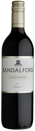 2017 Sandalford Winemakers Merlot